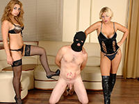 Brutal ball torture you will enjoy thoroughly! Savor our exclusive hi-res femdom ballbusting vids! DomBallBusting is ready to become your ultimate CBT, femdom and ballbusting paradise. Get amazed at every new ballbusting story we publish!