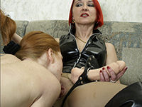 LezzoDom - Horny submissive sluts going amok over all the humiliation and pain the ladies inflict! Strapons, whippin, facesitting, and more!
